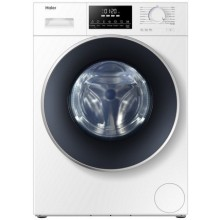 HAIER WASHING MACHINE HW-100-BP14826-FRONT LOAD-AUTOMATIC-WHITE